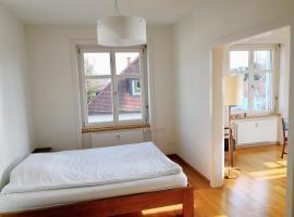 Two Rooms Apartment, Spacious and Bright, Basel (Allschwil yakınında)