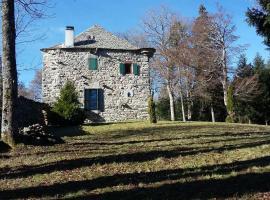 Le chateau de Ligeret, Sainte-Eulalie (рядом с городом Sagnes-et-Goudoulets)