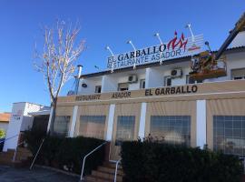 Hostal Restaurante Garballo, Moraleda de Zafayona (Salar yakınında)