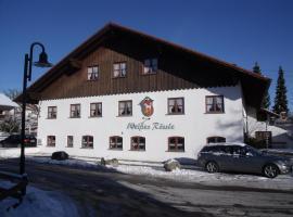 Landhotel Zahn's Weißes Rössle, Dietmannsried (Obergünzburg yakınında)