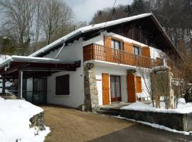 Maison de vacances, Châtillon-sur-Cluses