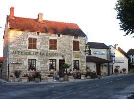 Auberge de la Baume, Bâlot (рядом с городом Laignes)