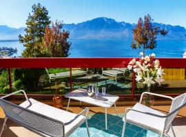 Lake View - 1 Bedroom, 1 Bath, Montreux (Le Châtelard yakınında)
