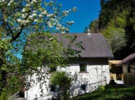 Ferienhaus Hirschnest, Sankt Pankraz (Wald yakınında)