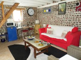 La petite maison, Veules-les-Roses (рядом с городом Sotteville-sur-Mer)
