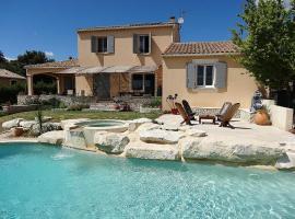 0376 Villa Domelle 8P. Argilliers, Gard, Argilliers (рядом с городом Collias)
