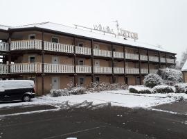 Hôtel & Résidence, Бартенхейм (рядом с городом Magstatt-le-Bas)