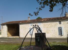 Chante le vent, Montpellier-de-Médillan (рядом с городом Saint-André-de-Lidon)