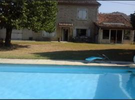 Chambres d'hôtes Les Moulinas, Piégros-la-Clastre (рядом с городом Aouste-sur-Sye)
