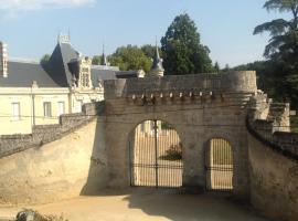Chateau de Vaillé Rochereau, Nueil-sur-Layon (рядом с городом Genneton)