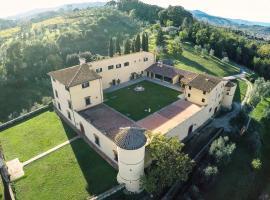 Villa Il Cerretino, Poggio a Caiano (Seano yakınında)