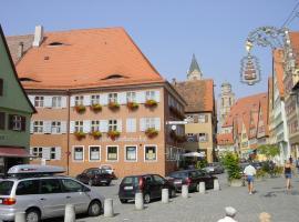 """Hotel-Restaurant """"Fränkischer Hof"""", Dinkelsbühl (Langfurth yakınında)"""
