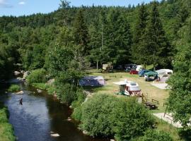 Camping Eco-responsable du Pont de Braye, Chastanier (рядом с городом Chabestras)
