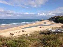 Apartamento acolhedor numa das mais belas praias do centro de Portugal