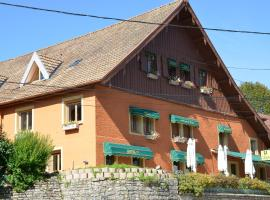 Logis Auberge Du Tuye, Luisans (рядом с городом Consolation-Maisonnettes)