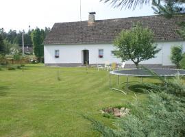 """Apartmán ,, V klídku"""", Hranice u Nových Hradů (Dvory nad Lužnicí yakınında)"""