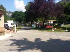 camping du lac, Saint-Julien-du-Verdon (рядом с городом La Mure)