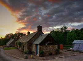 Dowally Holiday Cottage, Ballinluig (рядом с городом Данкельд)