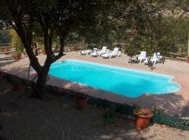 Villa Pla Els Bacus, Monistrol (рядом с городом La Bauma)