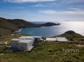 Unique Seafront Villa in Serifos Sotiras, Rámos (рядом с городом Vayia)