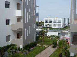 Blanca Beach vue partielle sur mer, Sidi Rahal
