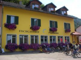Fischgasthof Aumüller, Obermühl (Altenfelden yakınında)