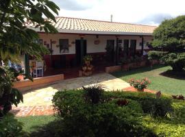 Villa Liliana Lodge Mesa de los Santos, Los Santos (La Fuente yakınında)