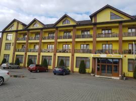Hotel Edelweiss, Mediaş