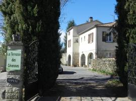 La Terrasse des Cevennes B&B, Ribes (рядом с городом Beaumont)