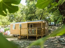 Camping les Chênes, Chauzon (рядом с городом Balazuc)