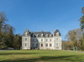 B&B Château du Logis, Saint-Bohaire (рядом с городом Marolles)