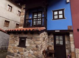 Coqueta casa, en un icónico pueblo de Asturias