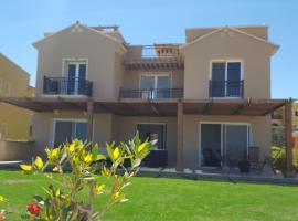 Diplomats villa 6 at the Mountain View North Cost Egypt Sahel Front View, Zāwiyat al 'Awwāmah (Zāwiyat Sīdī Mūsá yakınında)