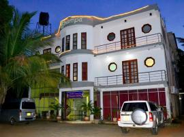 Thampa Tourist Hotel Managed by Star Rest, Vavuniya
