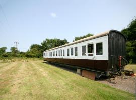 Railway Carriage Two, Occold (рядом с городом Дебенхем)
