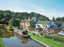 Caldon Canal Cottage, Cheddleton (рядом с городом Leek)
