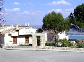 Casa Rural El Molino de Alocén, Alocén (Chillarón del Rey yakınında)