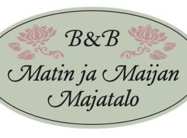 Matin ja Maijan Majatalo, Хямеэнлинна (рядом с городом Харвиала)