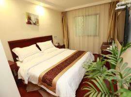 GreenTree Inn JiangSu NanTong Tongzhouwan Huanghe Road Business Hotel, Yuye (Sanyu yakınında)