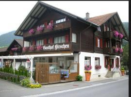 Gasthof Hirschen, Oey (Diemtigen yakınında)