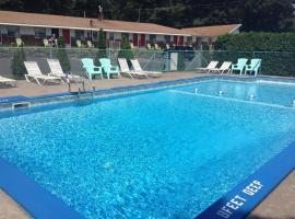 Robin Hood Motel, Saratoga Springs (in de buurt van Ballston Spa)