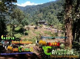 Destino Turístico Monté Cavernas, Santo Tomás (Ángeles yakınında)