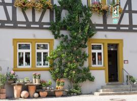 Ferienwohnung Schweizer, Iphofen (Markt Einersheim yakınında)