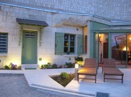 House Gîte troglo des délices, Seuilly (рядом с городом Лерне)