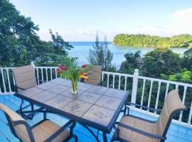 Moon San Villa at the Blue Lagoon, Port Antonio