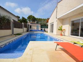 Bonita casa con piscina y jacuzzy. La Baraka, San Miguel de Fluviá (Siurana yakınında)