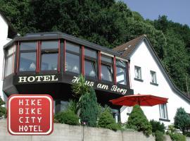 Hotel Haus am Berg, Trier (Ehrang yakınında)