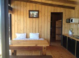 Casa para 6 con increible vista al mar y hot tub, Navidad (Matanzas yakınında)