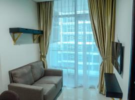 1 BR Brooklyn Apartment near Living World Mall By Travelio, Kandangsampi (рядом с городом Kampungklapa)