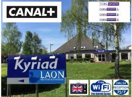 Kyriad Laon, Лан (рядом с городом Toulis-et-Attencourt)